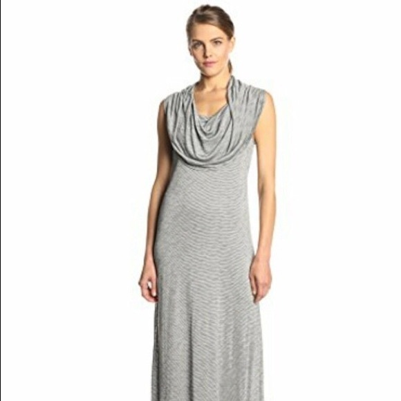 Kensie Dresses & Skirts - Kensie | Stripes Sleeveless maxi dress cowl neck